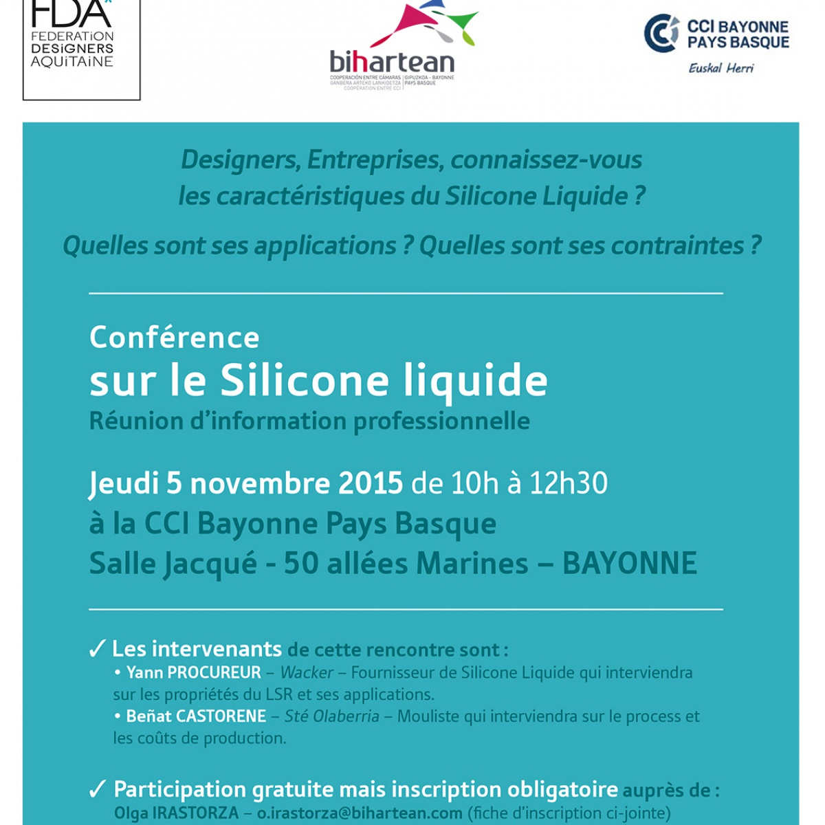 conference silicone liquide